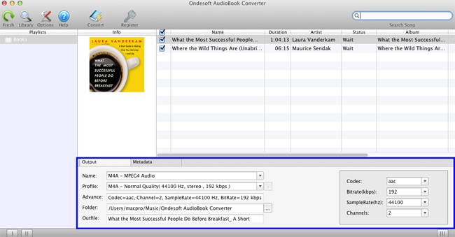 Remove DRM from audio books and convert DRM audiobooks to MP3, AAC